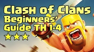 clash of clans beginners guide th 1 4 tip trick attack defense strategy farming android ios