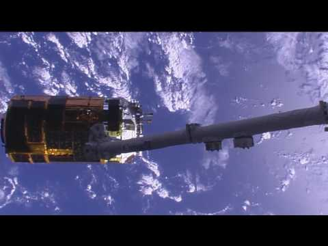 Japanese HTV-6 Cargo Ship Released From Space Station | Video