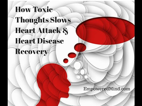 Heart Attack Mind-body connection, Toxic Thoughts
