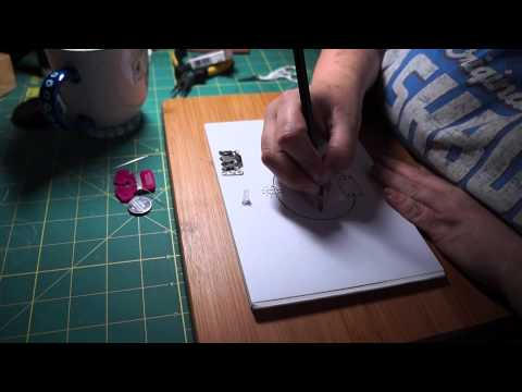 E textiles - Adding one LED light to your crafts