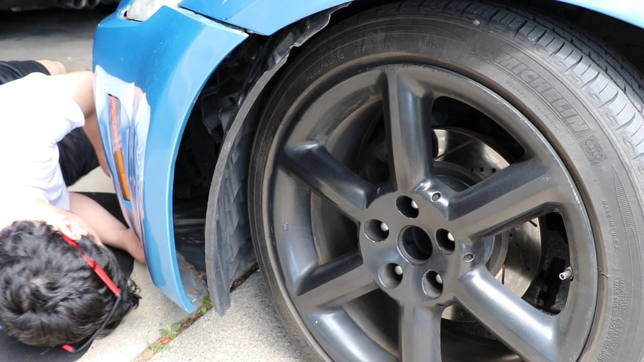Nissan 350z Headlight Install