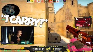 When S1mple streams #14 - Stream highlights - CSGO