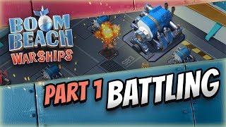 Boom Beach Warships: Battle Break Down!