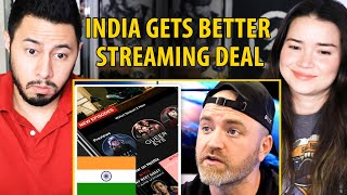 INDIA GETS A BETTER STREAMING DEAL | Netflix India | Later Clips | Reaction | Jaby Koay