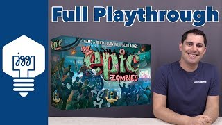 Tiny Epic Zombies Full Playthrough - JonGetsGames