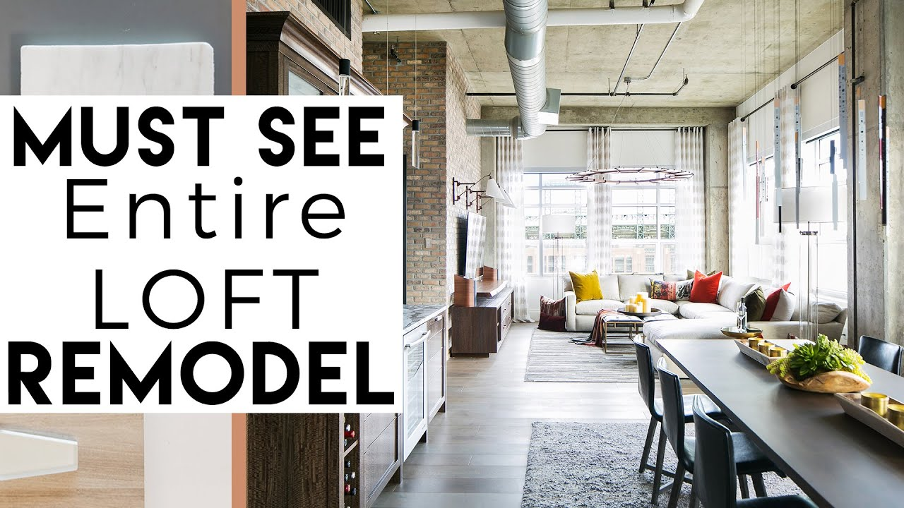 Interior Design Loft Remodel Must See