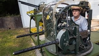 Meet Fred Bieser, World War II Airplane Turret Restorer