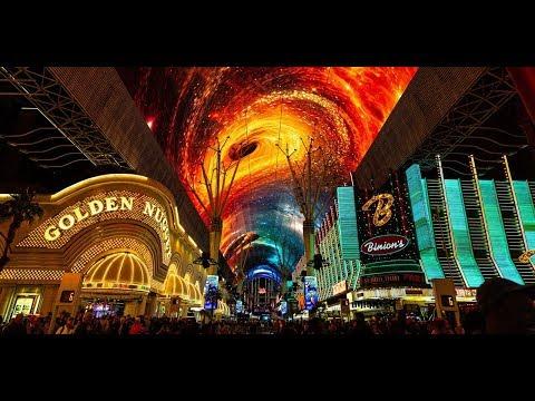 Viva Vision Canopy MIXology Light Show Full Video - Fremont Street Experience