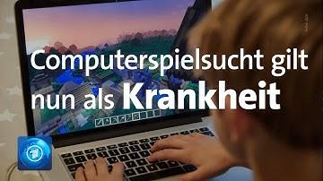 Computerspielsucht wird als Krankheit anerkannt
