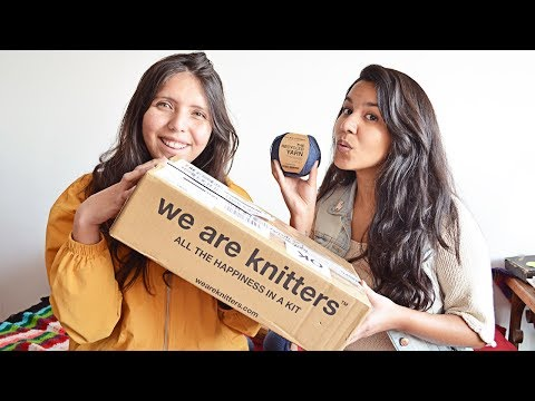 🧶 ¡UNBOXING!   We Are Knitters 🧶