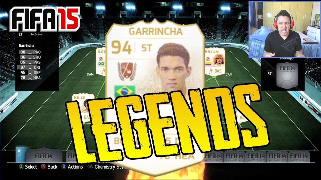 LEGENDS FOR FIFA 15 REST OF THE TEAM GARRINCHA