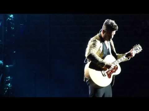 Robbie Williams - Millenium & Better Man & Sexed Up - live Munich München Olympiastadion 2013