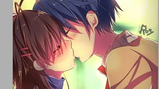 speed drawing CLANNAD KISS (with paint tool SAI)