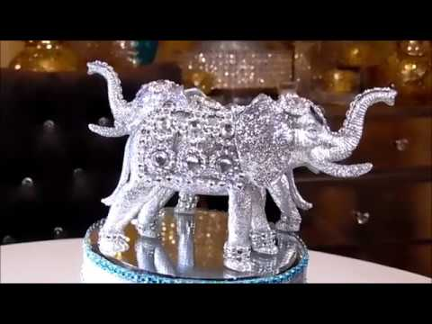 DIY - SUBSCRIBER REQUESTED BLING ELEPHANT - DOLLAR TREE