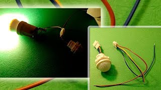 Mini czujnik ruchu - Woopower - czujnik ruchu na podczerwień do oświetlenia - mini czujnik podczerwieni