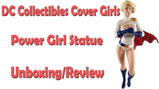 An unboxing and review video of the DC Collectibles Cover Girls Pow...