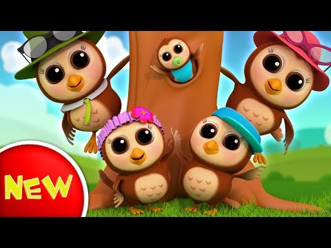 Owl Finger Family   Nursery Rhymes   Kids Songs For Children   Baby Rhymes by Farmees S02E181