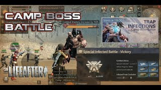 Trap Infections / Camp Boss Battle - LifeAfter Gameplay