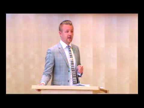 Fredrick Federley (C) argumenterar mot förhöjt straff för sexköp 2av2