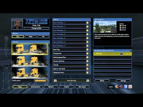 Trucks & Trailers gameplay