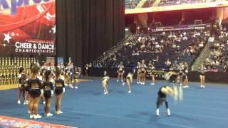 CA AllStars - Cheer Pros 1/26/13
