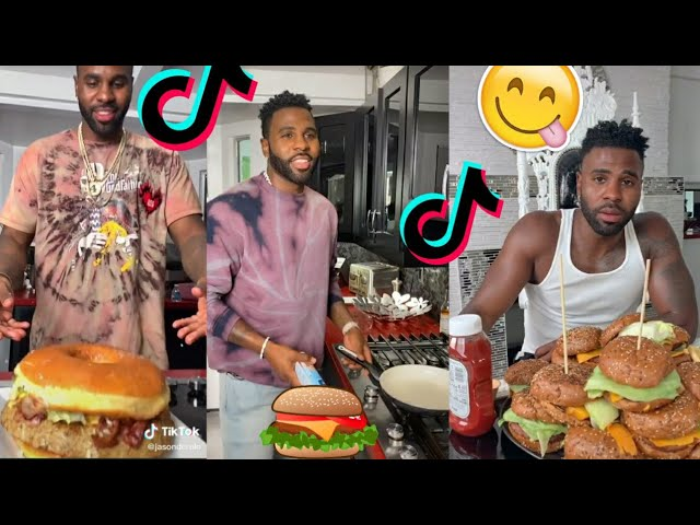 Cook with Jason Derulo and Jena frumes tiktok compilation!! Amazing
