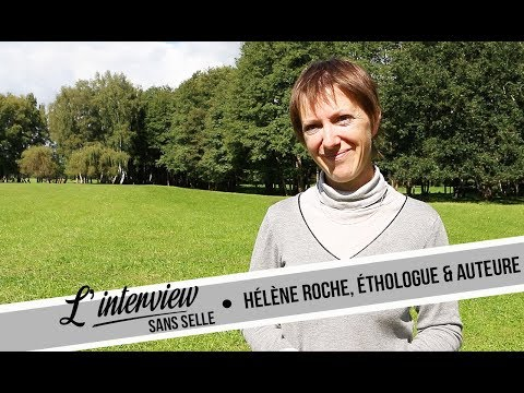 ~ L'INTERVIEW (sans Selle) #2 I Hélène Roche, éthologue et auteure