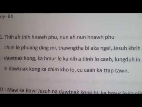 Tial Uk- thih ah thih hnawh phu-karaoke