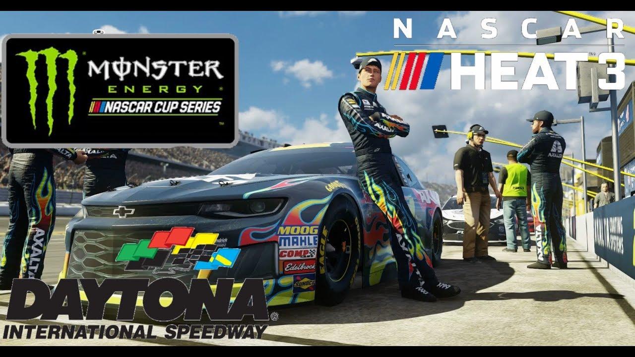 Nascar Heat 3 Setup Daytona Setup Monster Energy Series