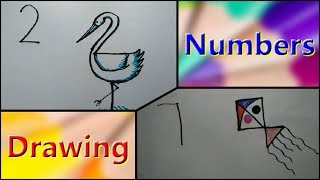 Draw Birds Animals From Numbers 1 To 10 Easy Steps For Kids