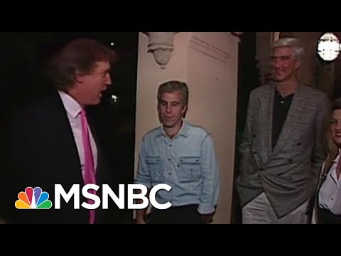 Newly-Found Footage Shows Donald Trump, Jeffrey Epstein At A '92 Party | Morning Joe | MSNBC