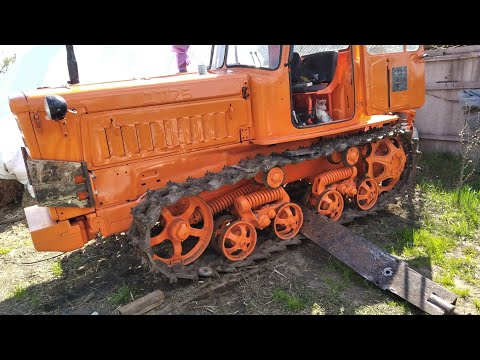 Установка лопаты на трактор ДТ-75.. (ЧАСТЬ-1)..