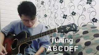 I Play Stairway to Heaven in ABCDEF Tuning