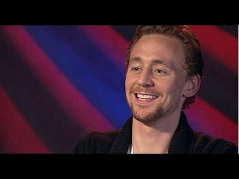 Marvel's 'The Avengers' Movie Tom Hiddleston Interview: Yoda Impression and Bob Dylan Song
