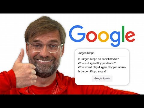 Jurgen Klopp Answers the Web's Most Searched Questions About Him | Autocomplete Challenge