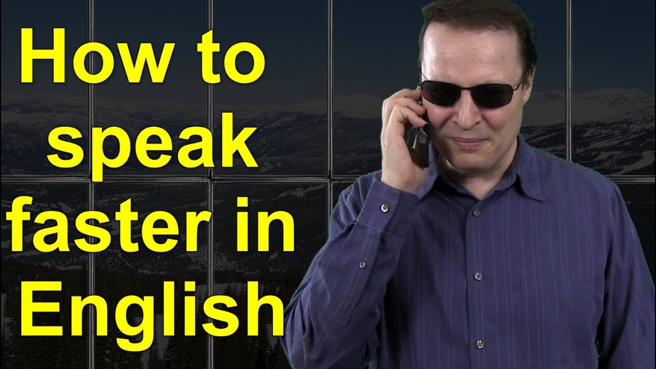 How to speak faster in English - Learn English Live 15 ...