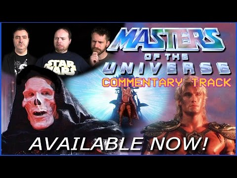 Masters of the Universe Commentary Track Available Now!