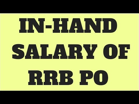 IN-HAND SALARY OF RRB PO WITH SALARY SLIP PROOF APRIL 2018