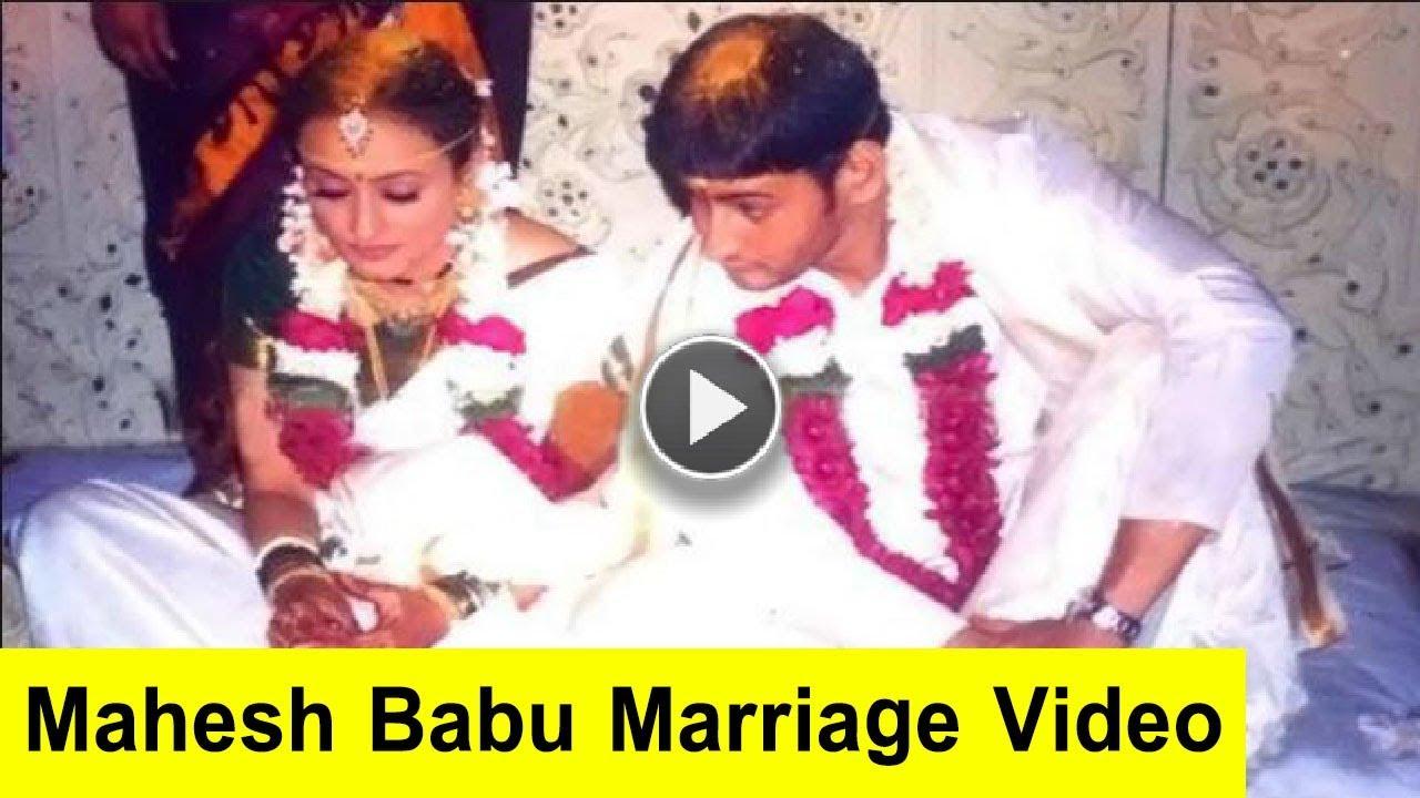 Mahesh Babu Marriage Video Mahesh Babu And Namrata Wedding Video Mah Mahesh Babu Wedding Video Marriage Photos