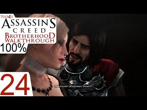 Assassin's Creed: Brotherhood (100%) Walkthrough Part 24 - Into the Castel Sant'Angelo