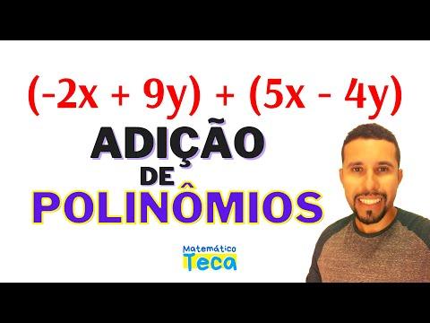 Adicao Algebrica De Polinomios Exercicios Resolvidos Youtube