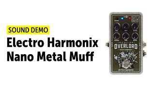 Electro Harmonix Nano Operation Overlord - Sound Demo
