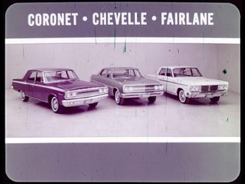 1965 Dodge Coronet vs. Chevrolet Chevelle and Ford Fairlane Dealer Promo Film