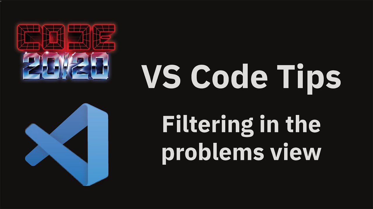 Filtering in the problems view