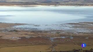 Telecantabria 2   20/12/2017   Pantano del Ebro sube de nivel