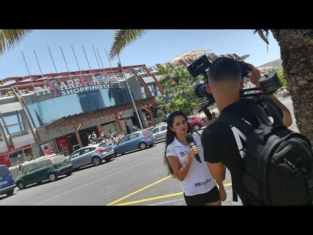 Miss Sur 2017 visita CENTRO COMERCIAL PASARELA