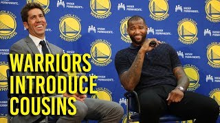 Cousins excited to play for Warriors, get to playoffs thumbnail