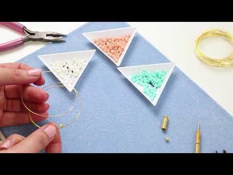 Bijoux à faire soi-même : Beadalon memory wire ♡ DIY