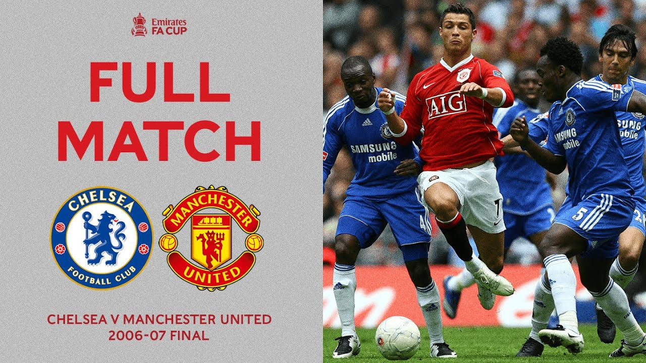 Download FULL MATCH | Two Giants Clash At The New Wembley Stadium | Chelsea v Man United | FA Cup Final 06-07