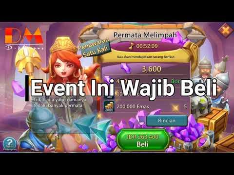 No Cheaters, Cash Real !! Event Yang WAJIB Beli Di Lords Mobile (IGG)